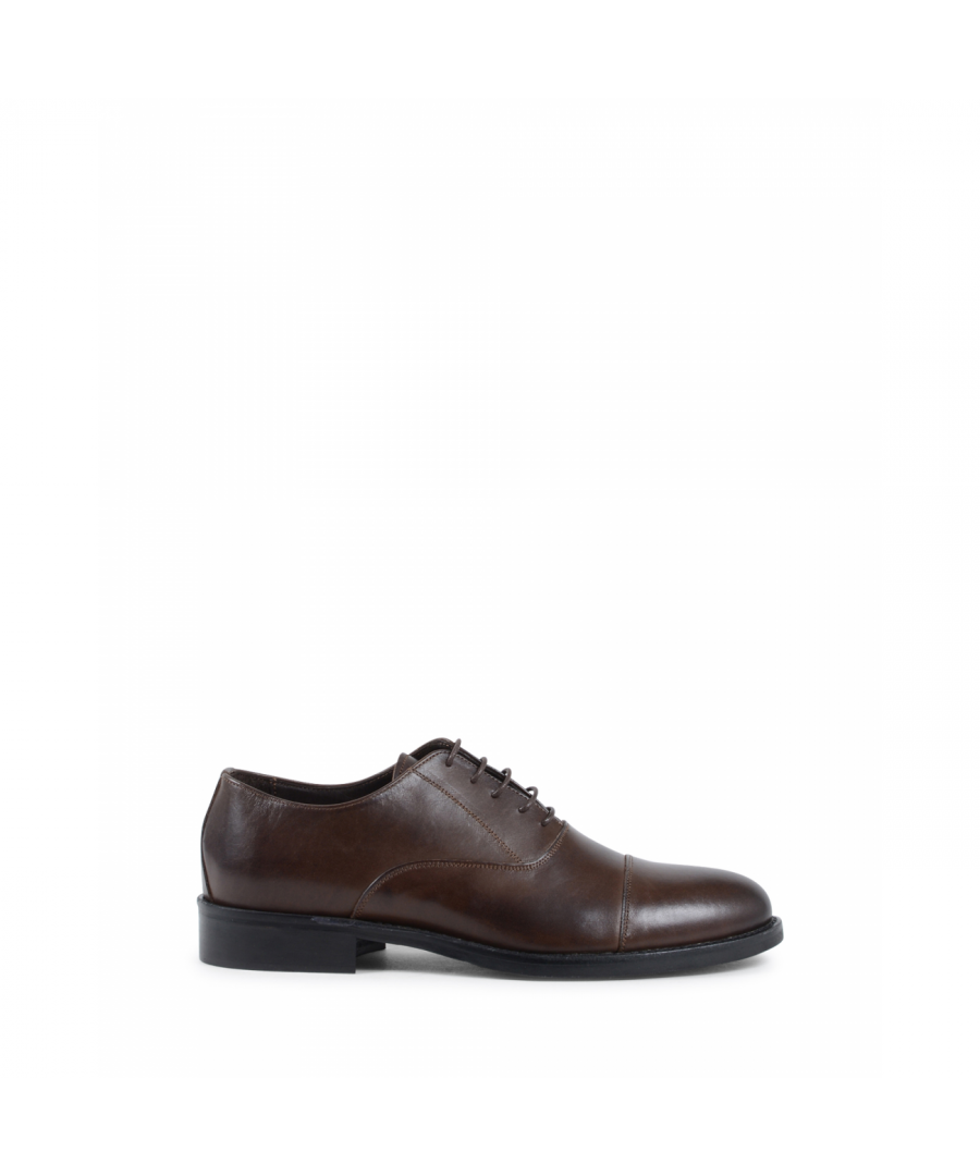 Image for 19V69 Italia Mens Classic Shoe Brown 913L MP VITELLO T. MORO