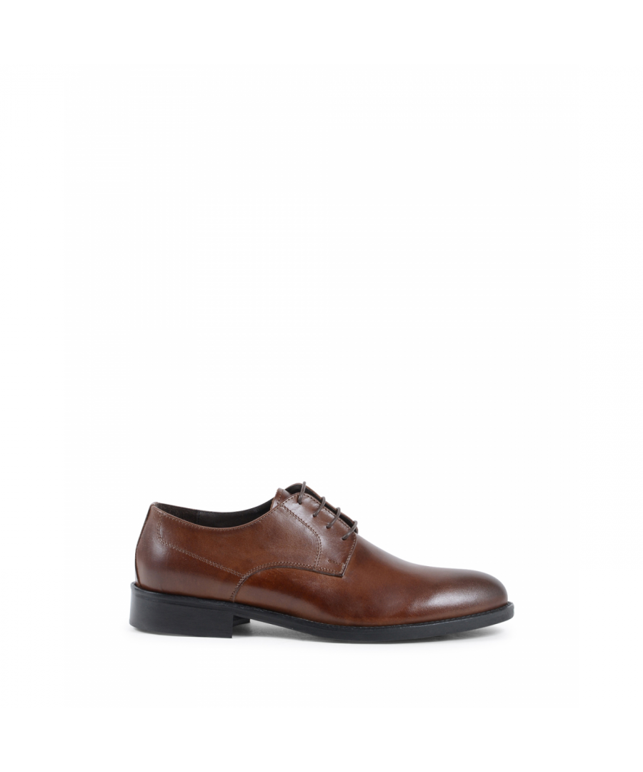 Image for 19V69 Italia Mens Classic Shoe Tan 912 P VITELLO SUDAN