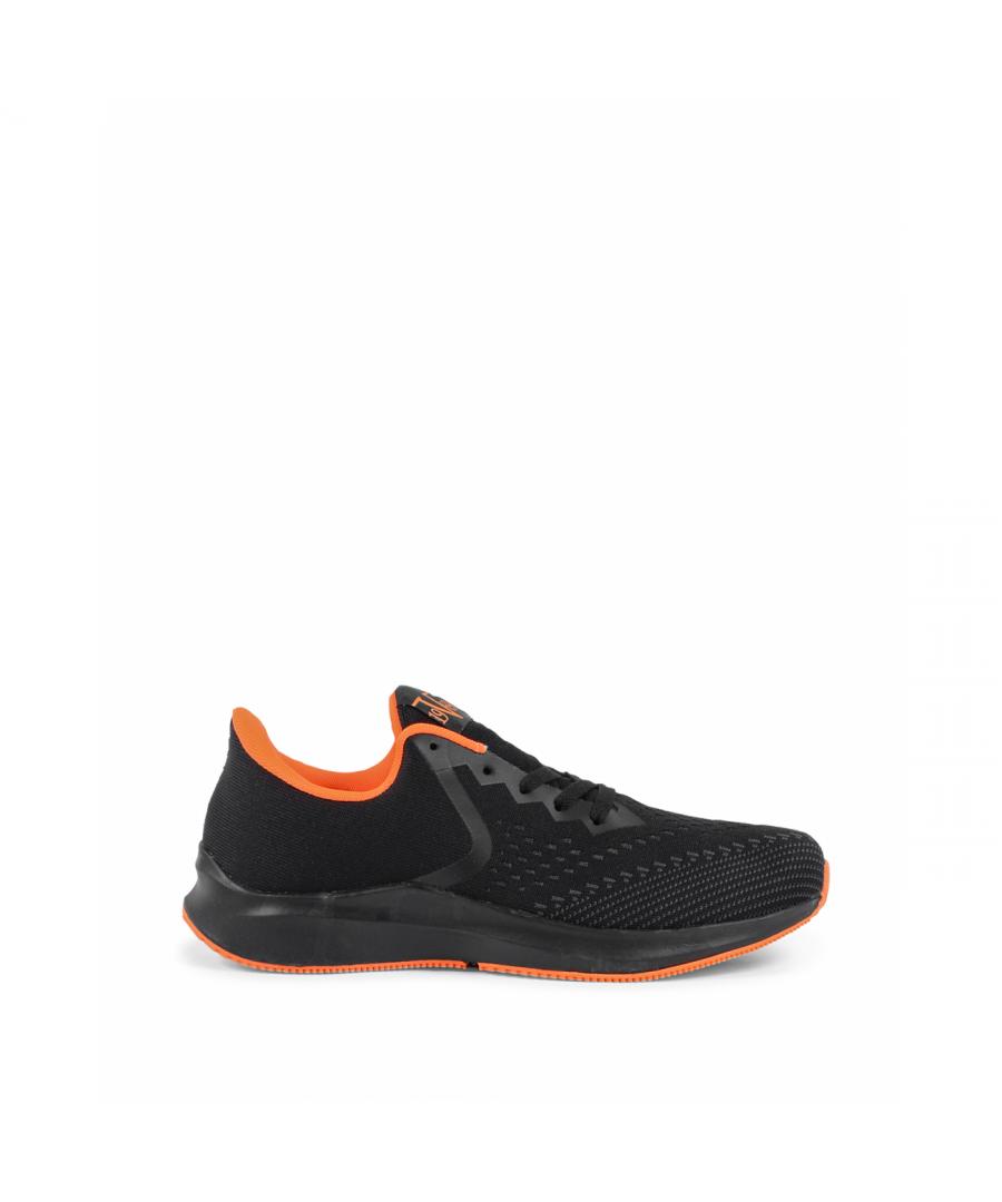 Image for 19V69 Italia Mens Sneaker V032 NERO ARANCIO