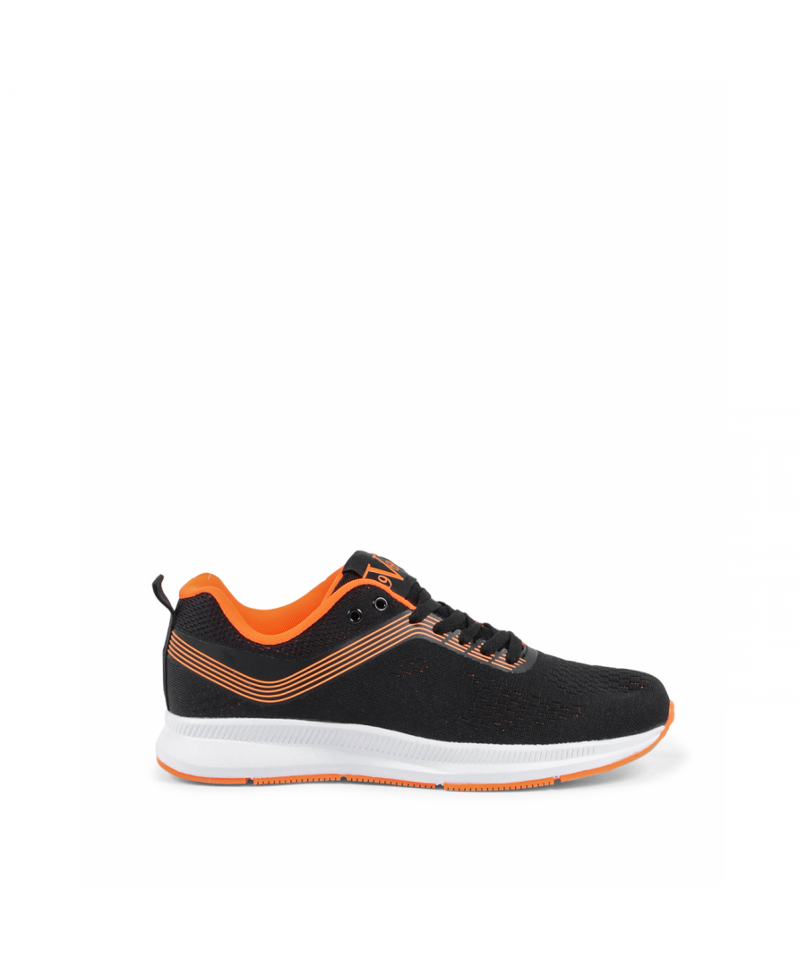Image for 19V69 Italia Mens Sneaker V035 NERO ARANCIO
