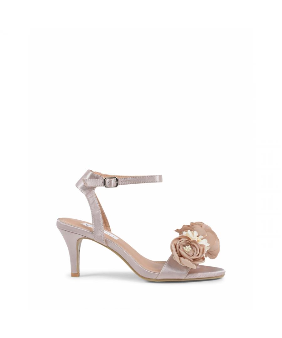 Image for 19V69 Italia Women's Ankle Strap Sandal Beige V609 BEIGE