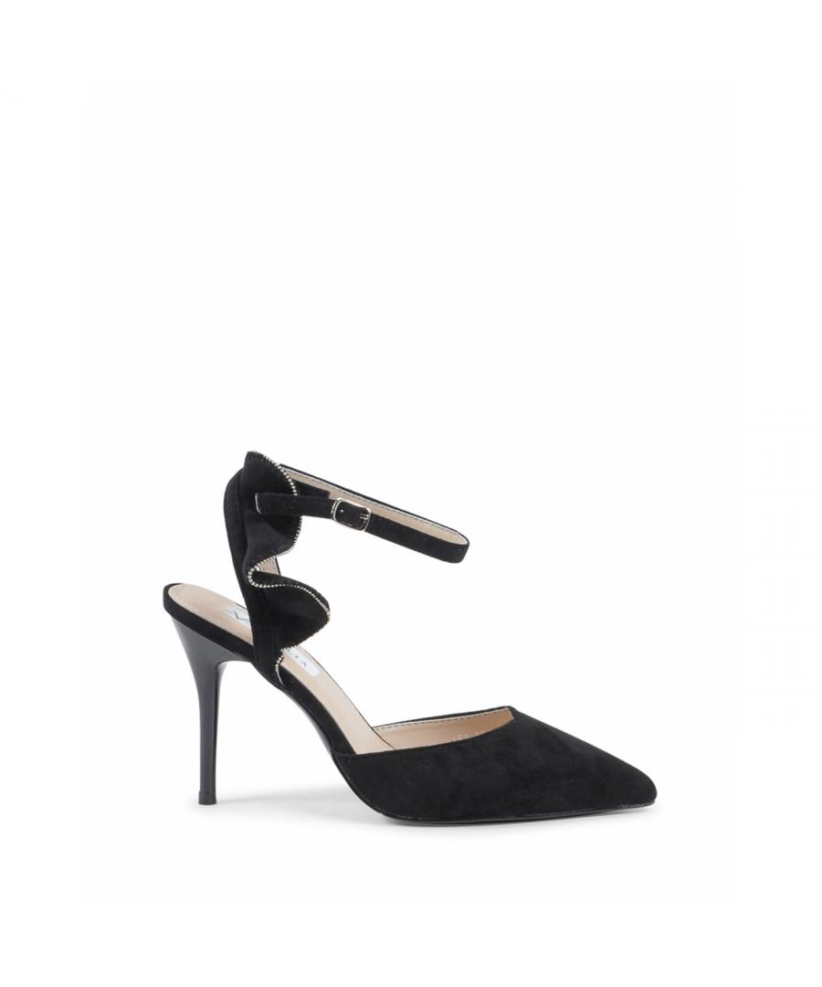 Image for 19V69 Italia Women's Ankle Strap Sandal Black V151 BLACK