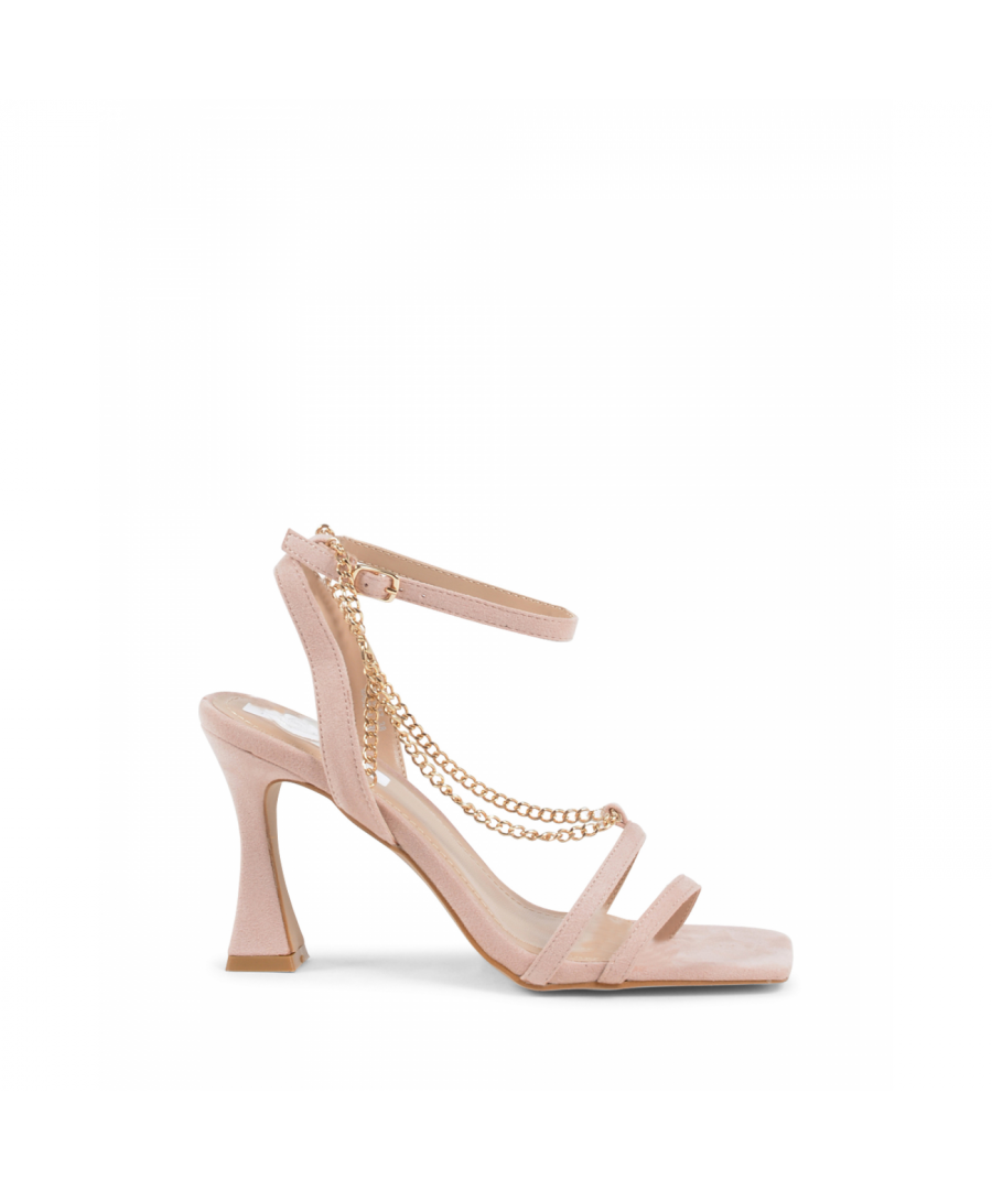 Image for 19V69 Italia Womens Ankle Strap Sandal Nude V81817 NUDE
