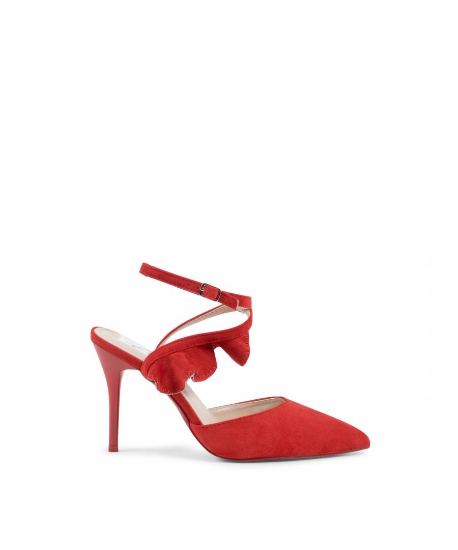 Image for 19V69 Italia Womens Ankle Strap Sandal Red V151 RED