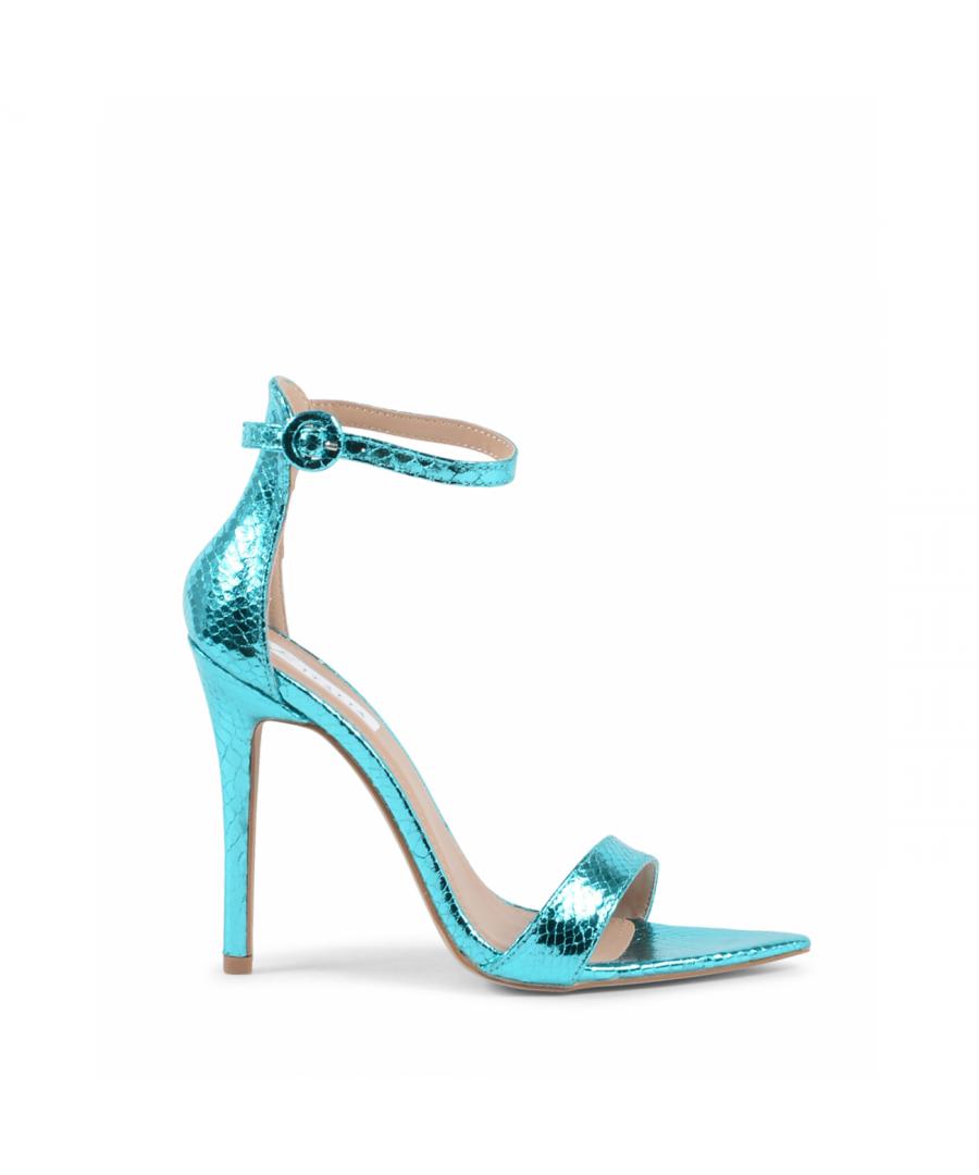 Image for 19V69 Italia Womens Ankle Strap Sandal Turquoise V8183 TURQUOISE