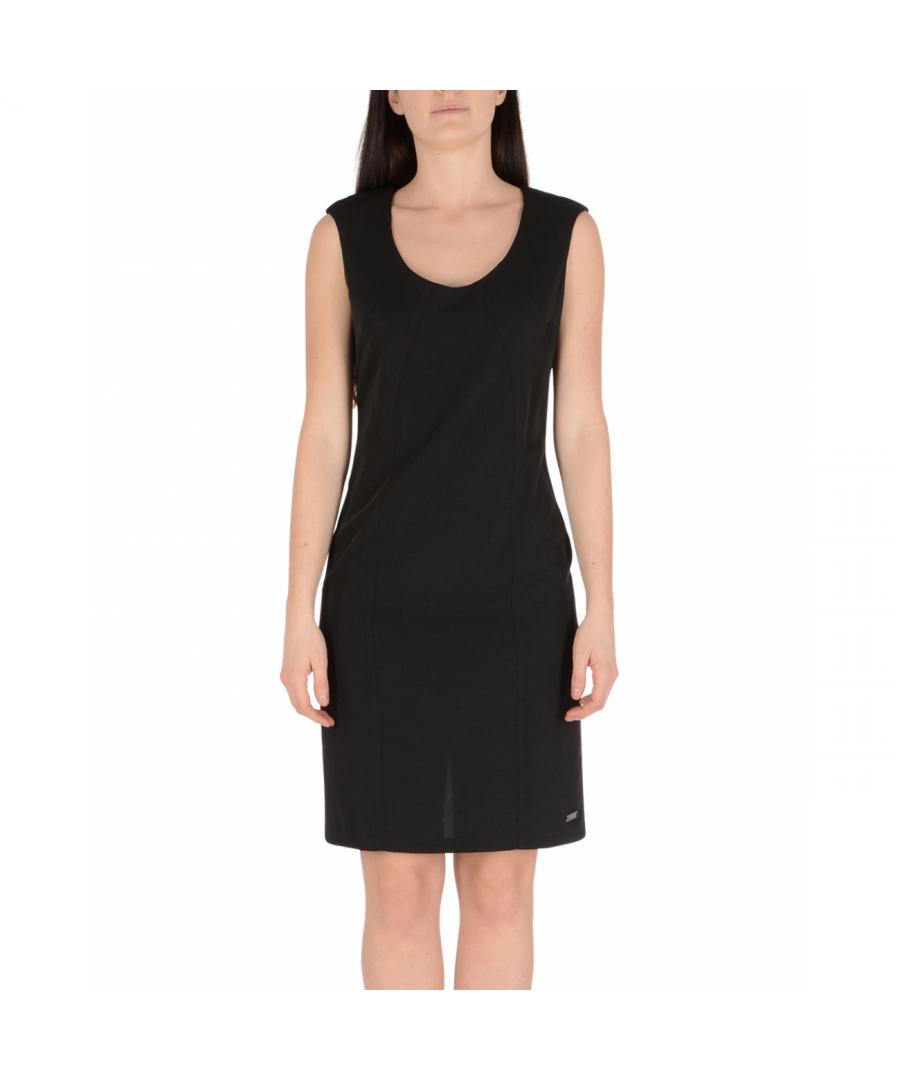 Image for 19V69 Italia Women's Dress Black ABITO PARIGI NERO
