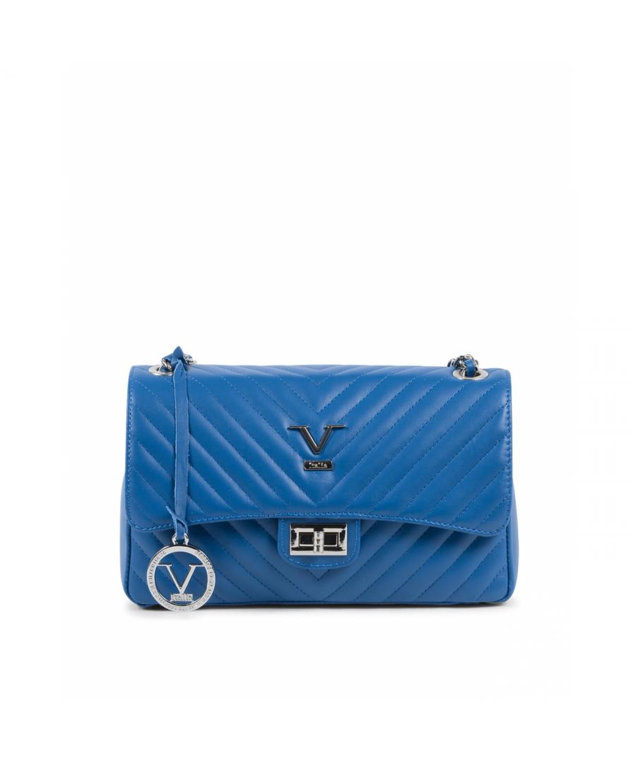 Image for 19V69 Italia Women's Handbag Blue V0116 SAUVAGE BLUETTE