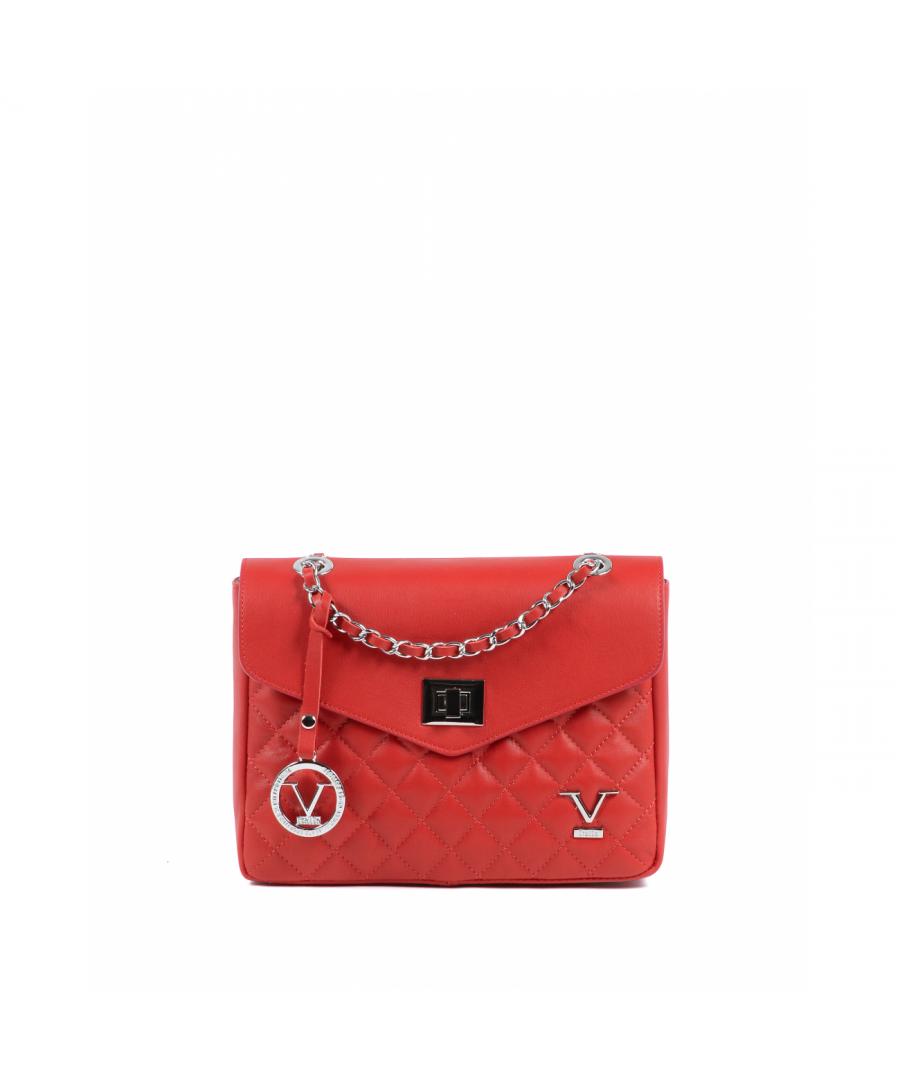 Image for 19V69 Italia Womens Handbag Red V024-S SAUVAGE ROSSO