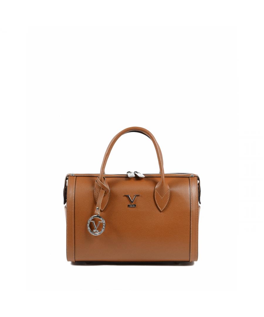 Image for 19V69 Italia Womens Handbag Tan V014-S PALMELLATO CUOIO