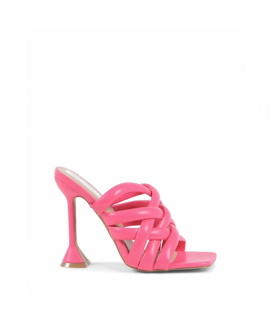 Image for 19V69 Italia Women's Heeled Sandal Fuxia V8182 FUXIA