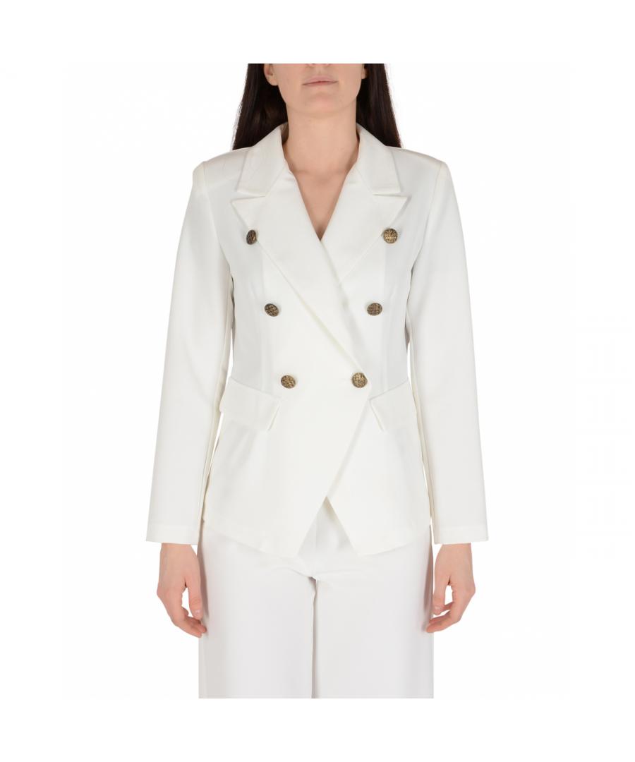 Image for 19V69 Italia Womens Jacket White GIACCA MARA BIANCO