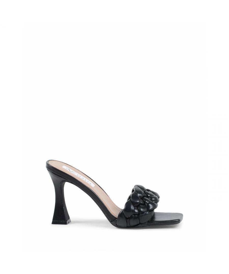 Image for 19V69 Italia Womens Mule Sandal Black V8186 BLACK