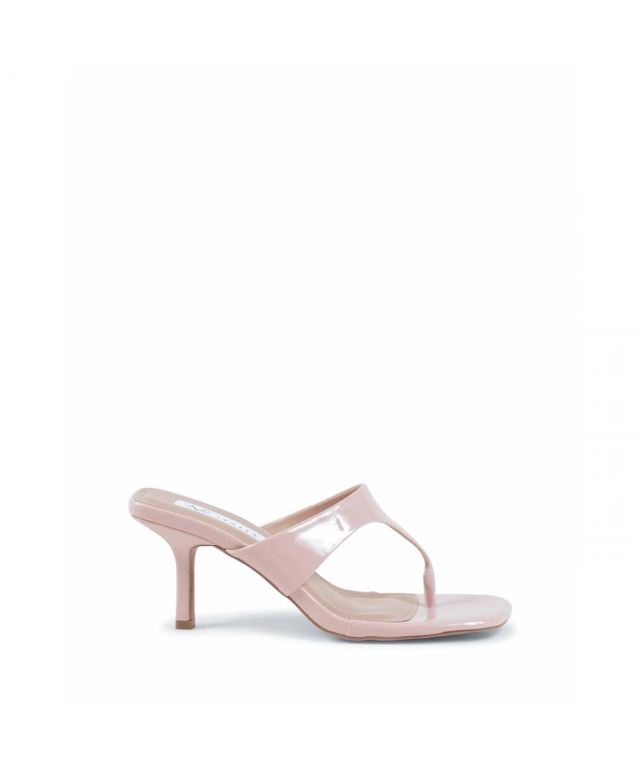 Image for 19V69 Italia Womens Mule Sandal Nude V81819 NUDE