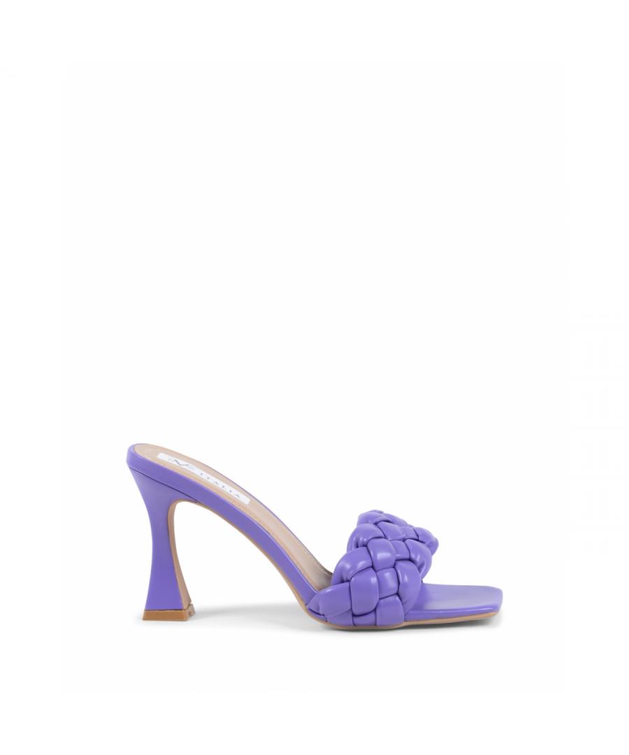 Image for 19V69 Italia Womens Mule Sandal Purple V8186 PURPLE
