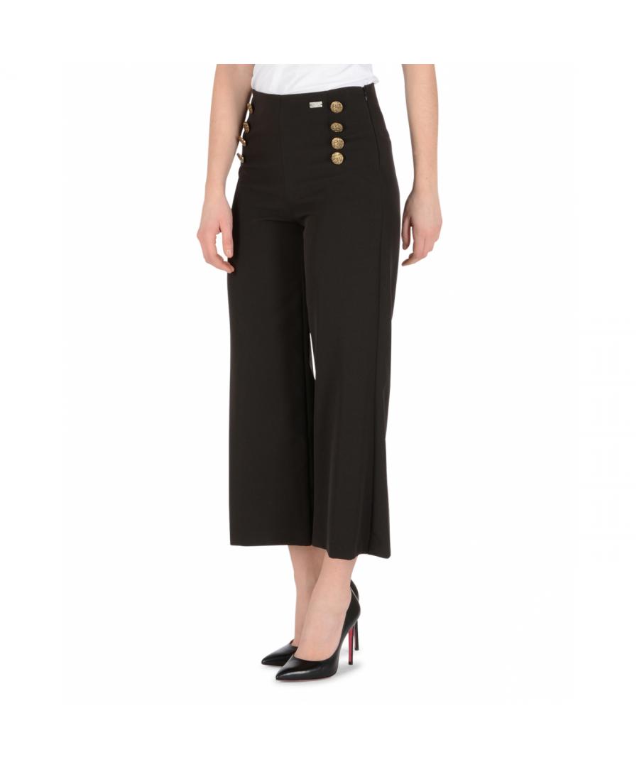 Image for 19V69 Italia Womens Pants Black PANTALONE DOHA NERO