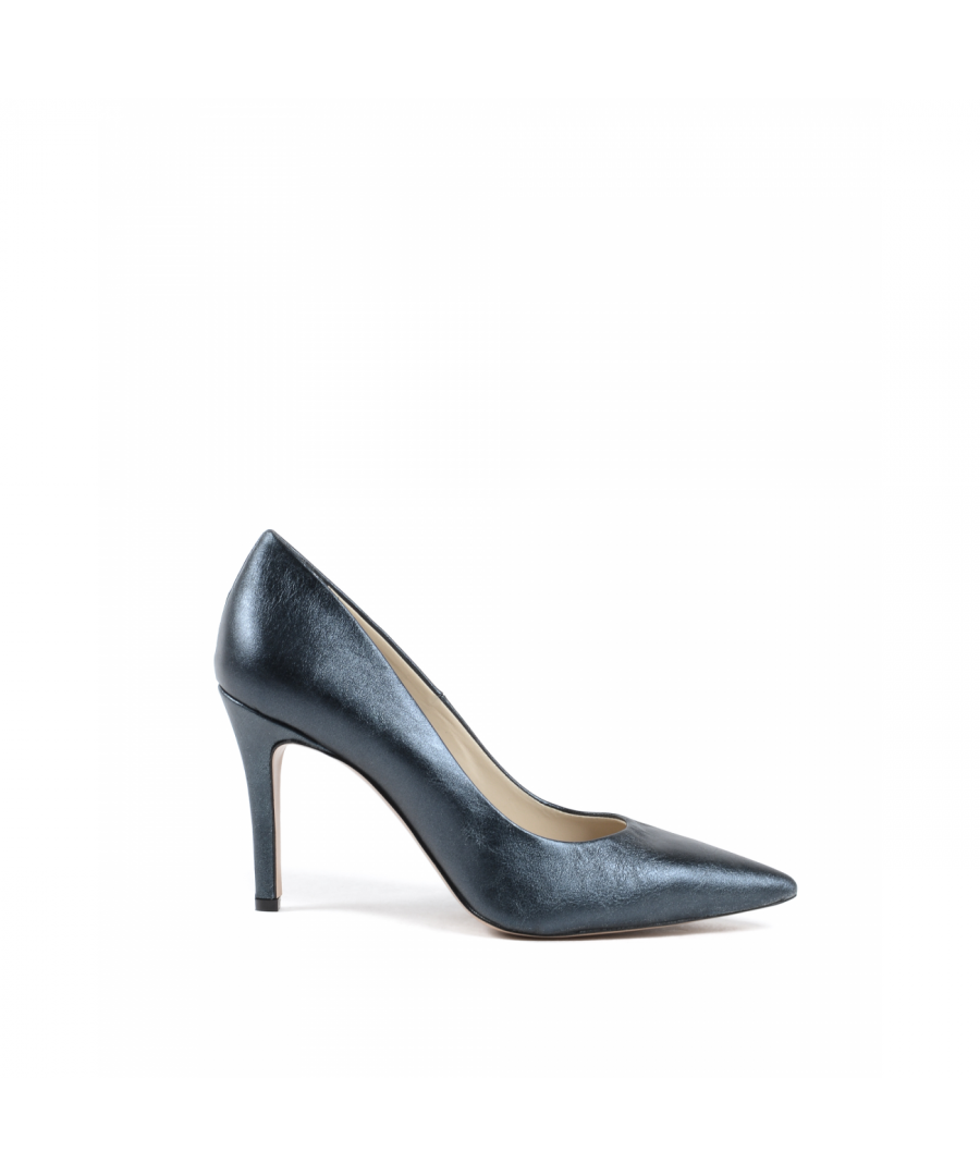 Image for 19V69 Italia Womens Pump Dark Blue 301 MORDORE' BLUE