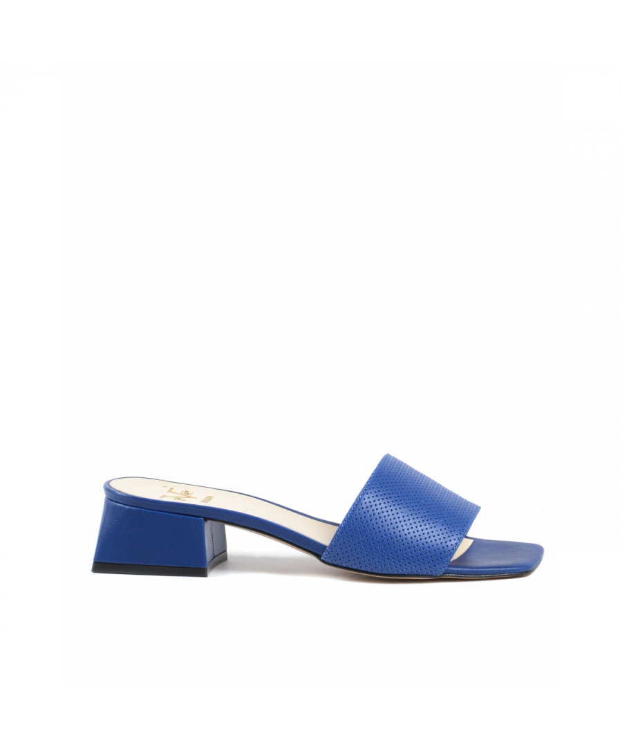 Image for 19V69 Italia Womens Sandal Blue 4909 TRAF BLU MATTO