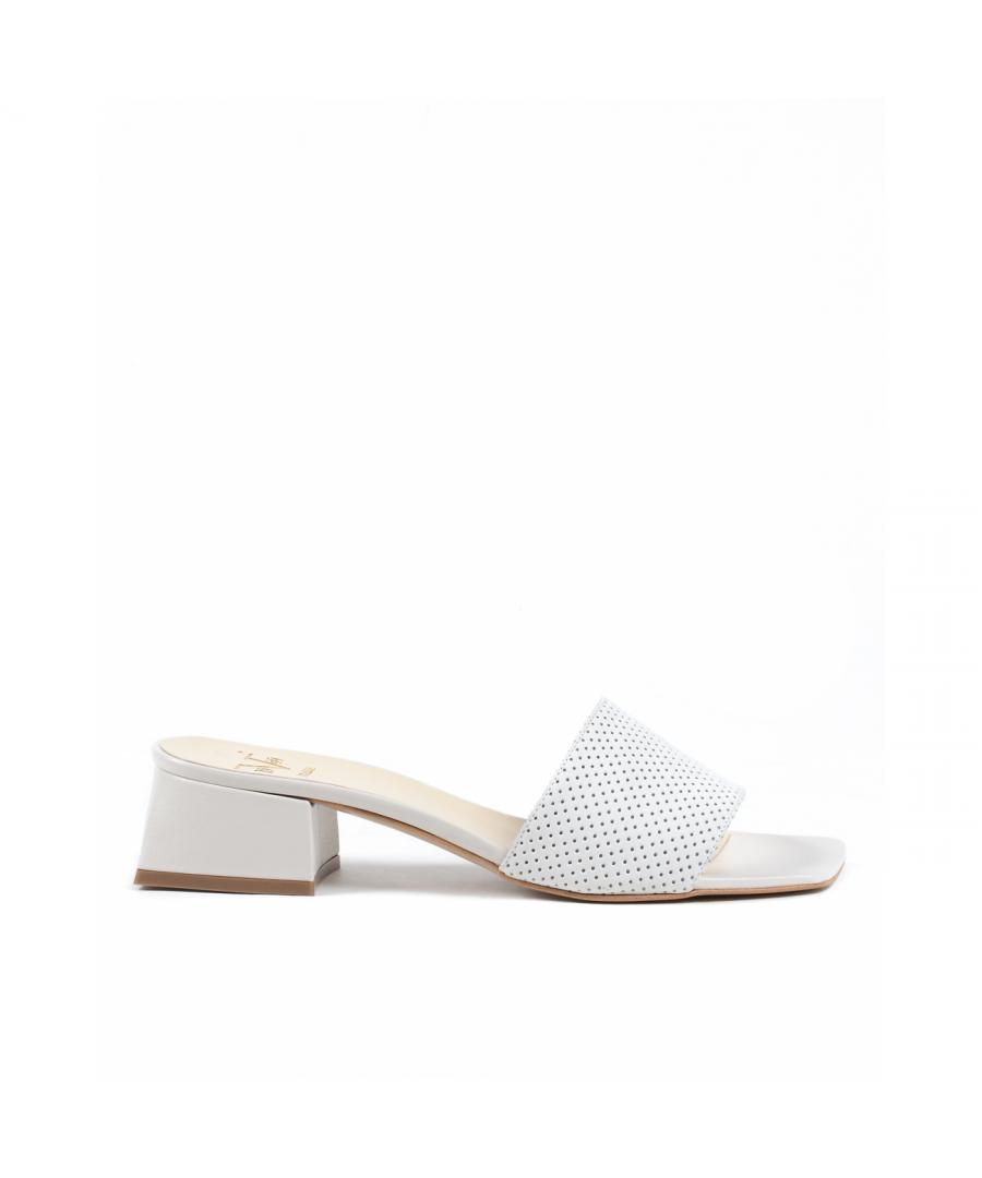 Image for 19V69 Italia Womens Sandal White 4909 TRAF SILK GESSO