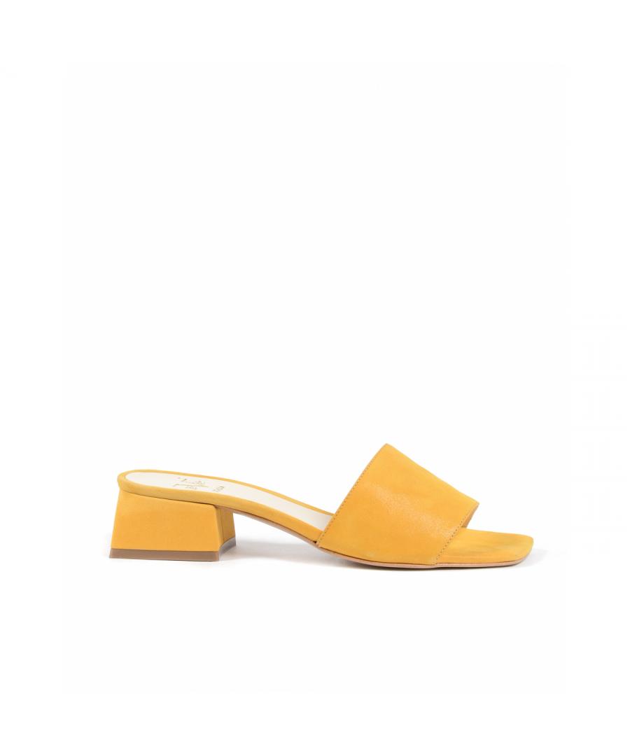 Image for 19V69 Italia Womens Sandal Yellow 4909 PELLE AMBER