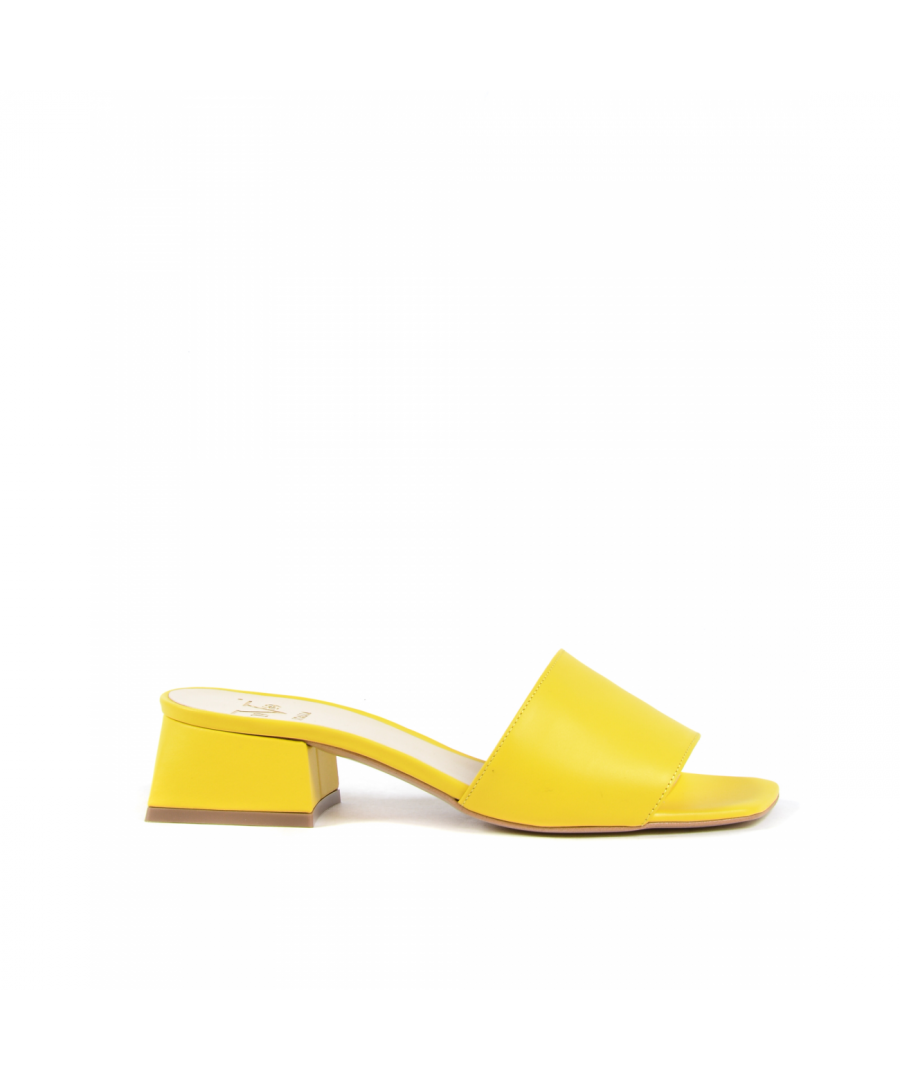 Image for 19V69 Italia Womens Sandal Yellow 4909 VITELLO GIALLO