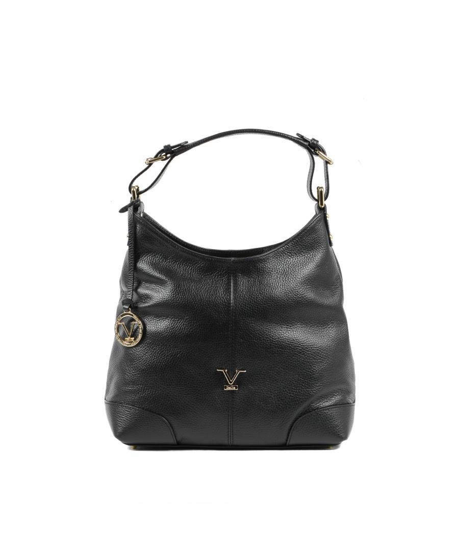 Image for 19V69 Italia Women's Shoulder Bag Black V319 52 DOLLARO NERO