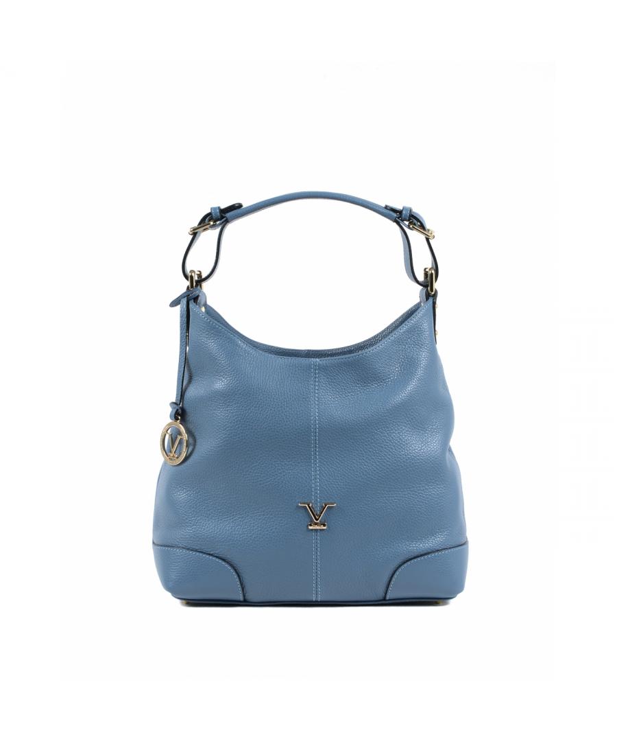 Image for 19V69 Italia Women's Shoulder Bag Light Blue V319 52 DOLLARO CELESTE