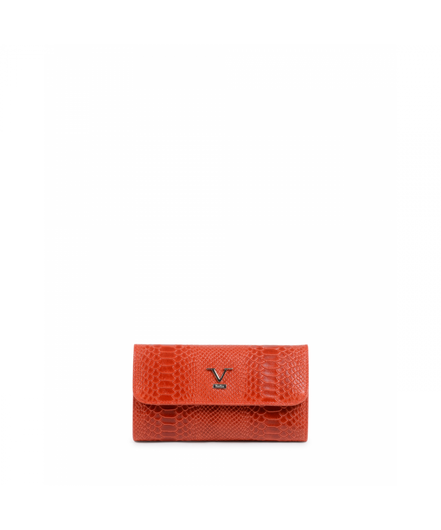 Image for 19V69 Italia Women's Shoulder Bag Red V1513 PITONE STAMPATO ROSSO