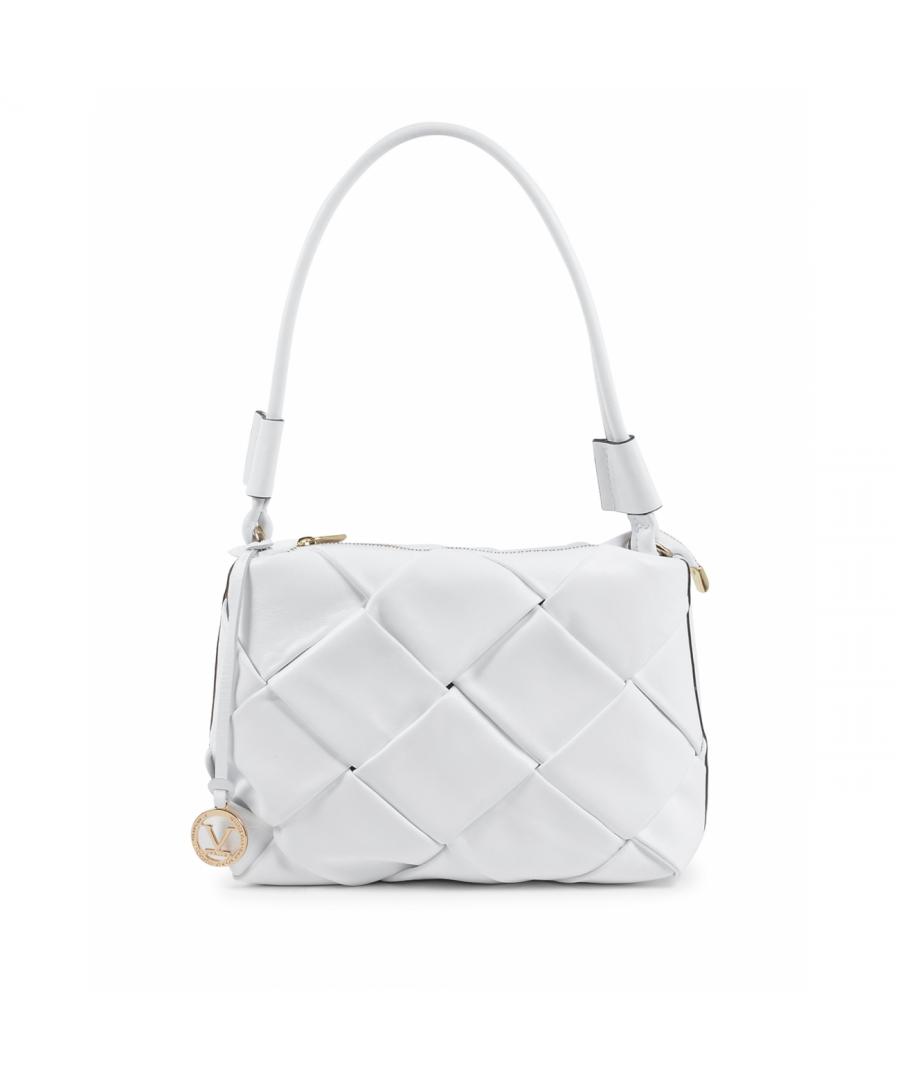 Image for 19V69 Italia Women's Shoulder Bag White V10230 52 SAUVAGE BIANCO