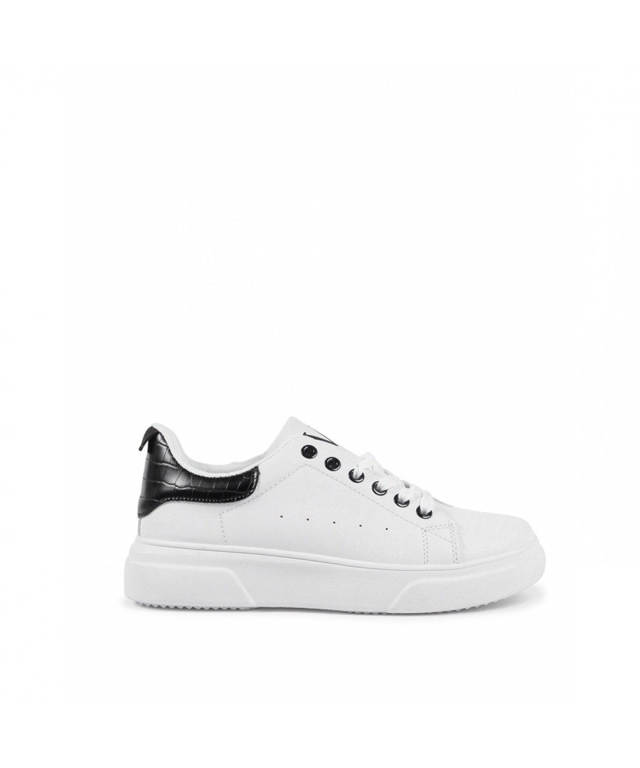 Image for 19V69 Italia Women's Sneaker V850 BIANCO NERO