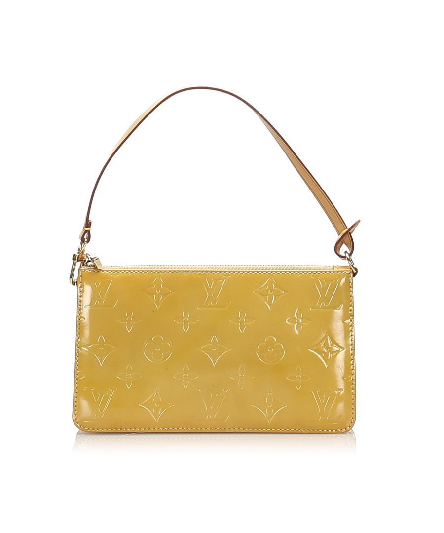 Image for Vintage Louis Vuitton Vernis Lexington Pochette Brown
