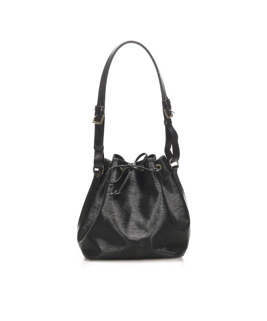 Image for Vintage Louis Vuitton Epi Petit Noe Black