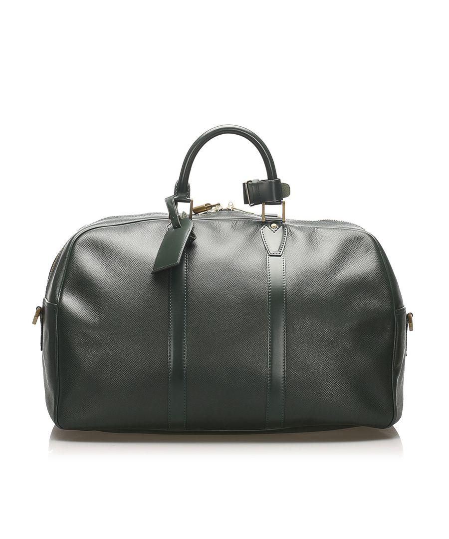 Image for Vintage Louis Vuitton Taiga Kendall PM Black