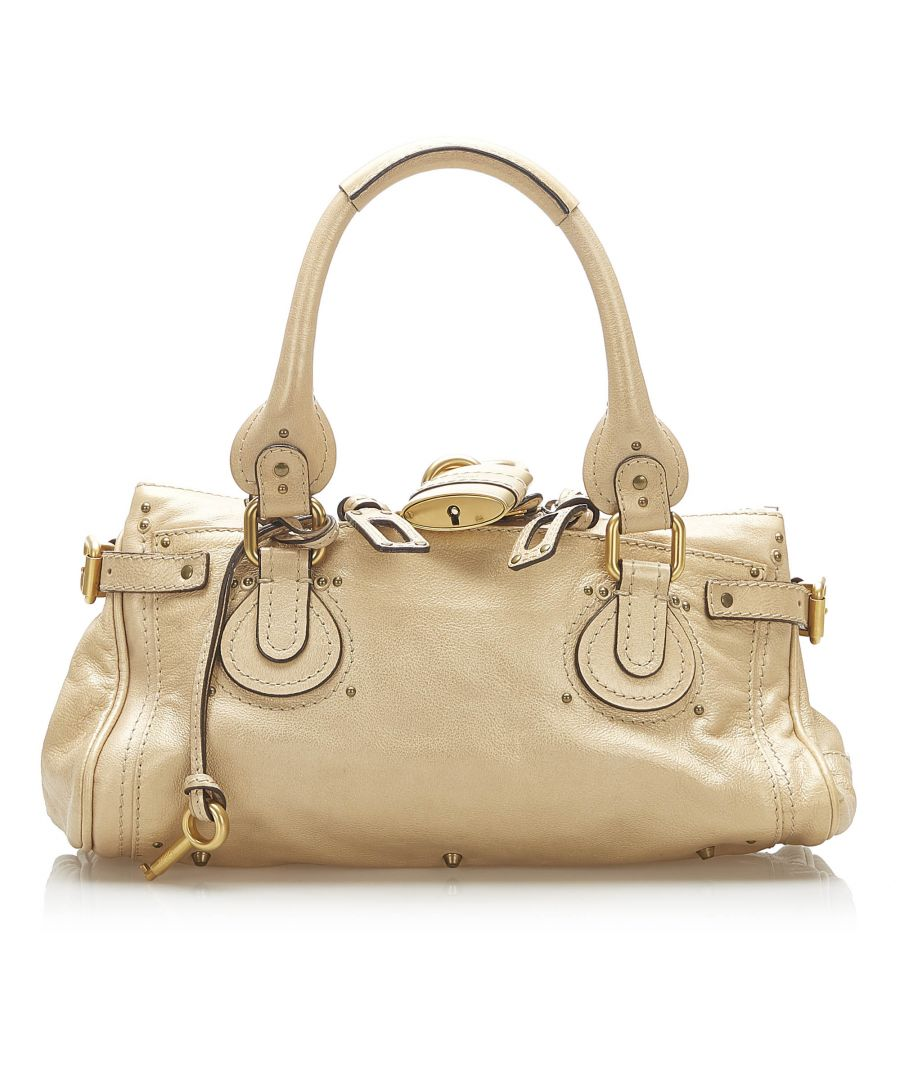 Image for Vintage Chloe Paddington Leather Handbag Brown