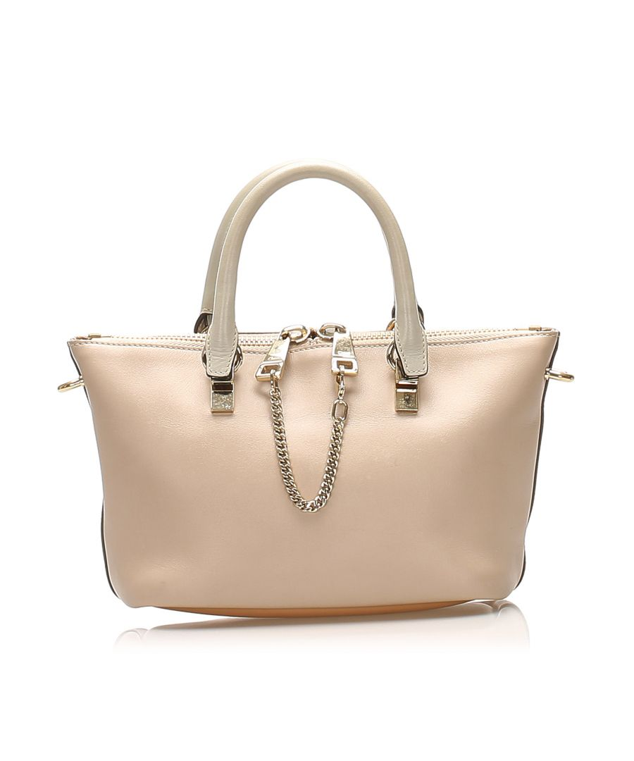 Image for Vintage Chloe Bailey Leather Satchel Brown