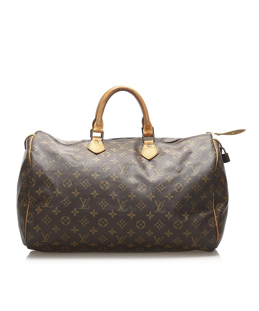 Image for Vintage Louis Vuitton Monogram Speedy 40 Brown