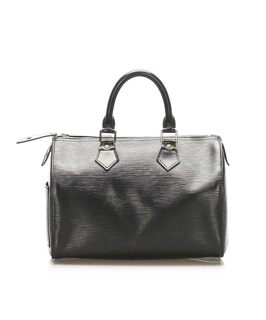 Image for Vintage Louis Vuitton Epi Speedy 30 Black