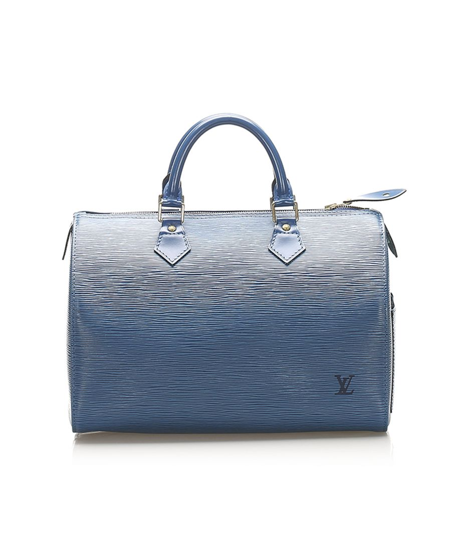 Image for Vintage Louis Vuitton Epi Speedy 30 Blue