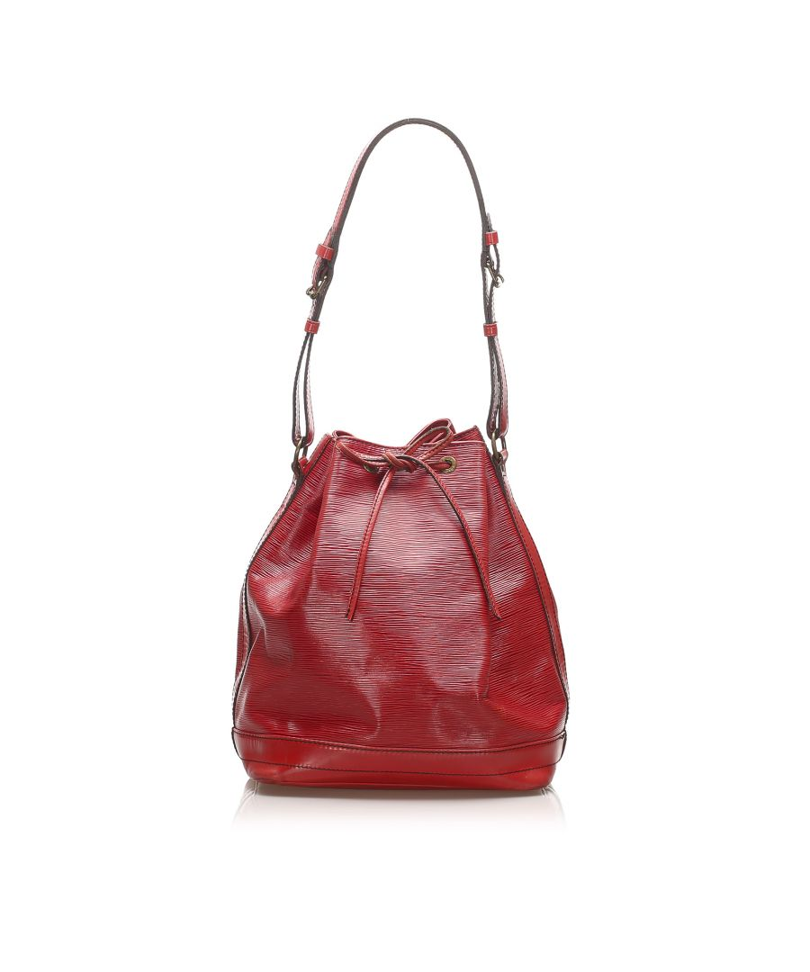 Image for Vintage Louis Vuitton Epi Noe PM Red