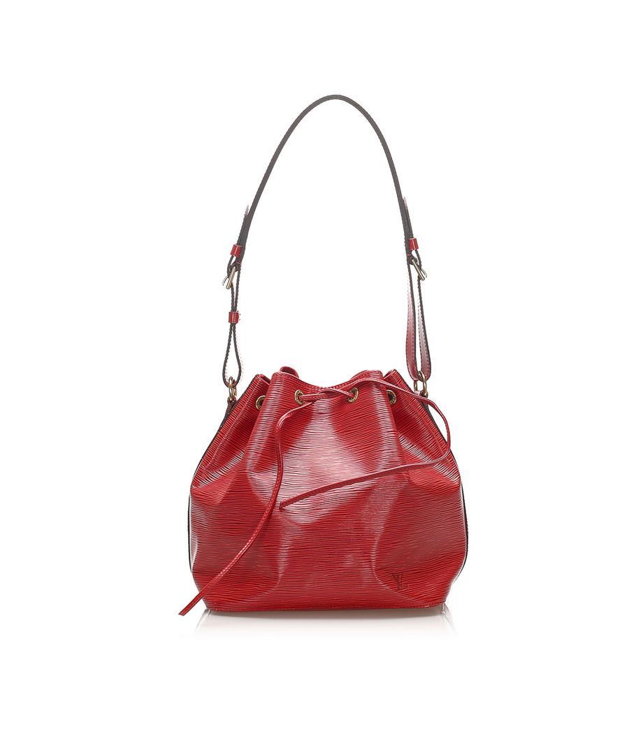 Image for Vintage Louis Vuitton Epi Petit Noe Red