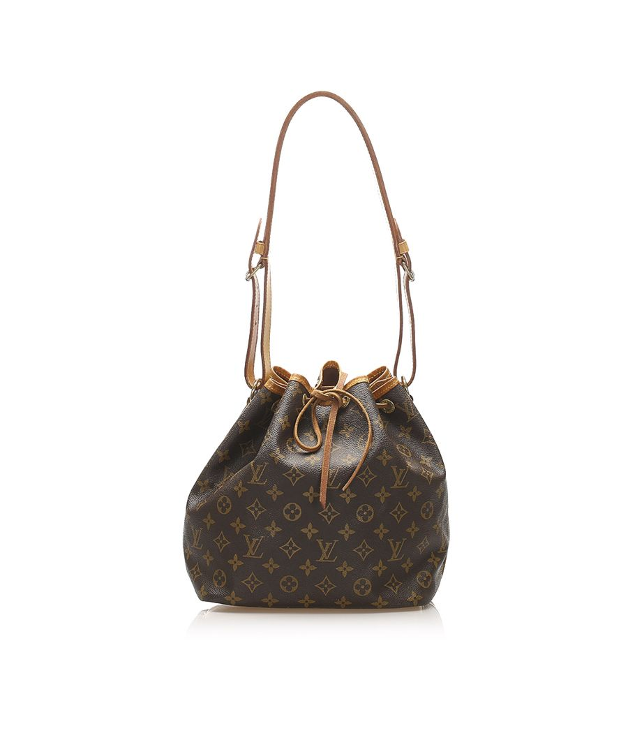 Image for Vintage Louis Vuitton Monogram Petit Noe Brown