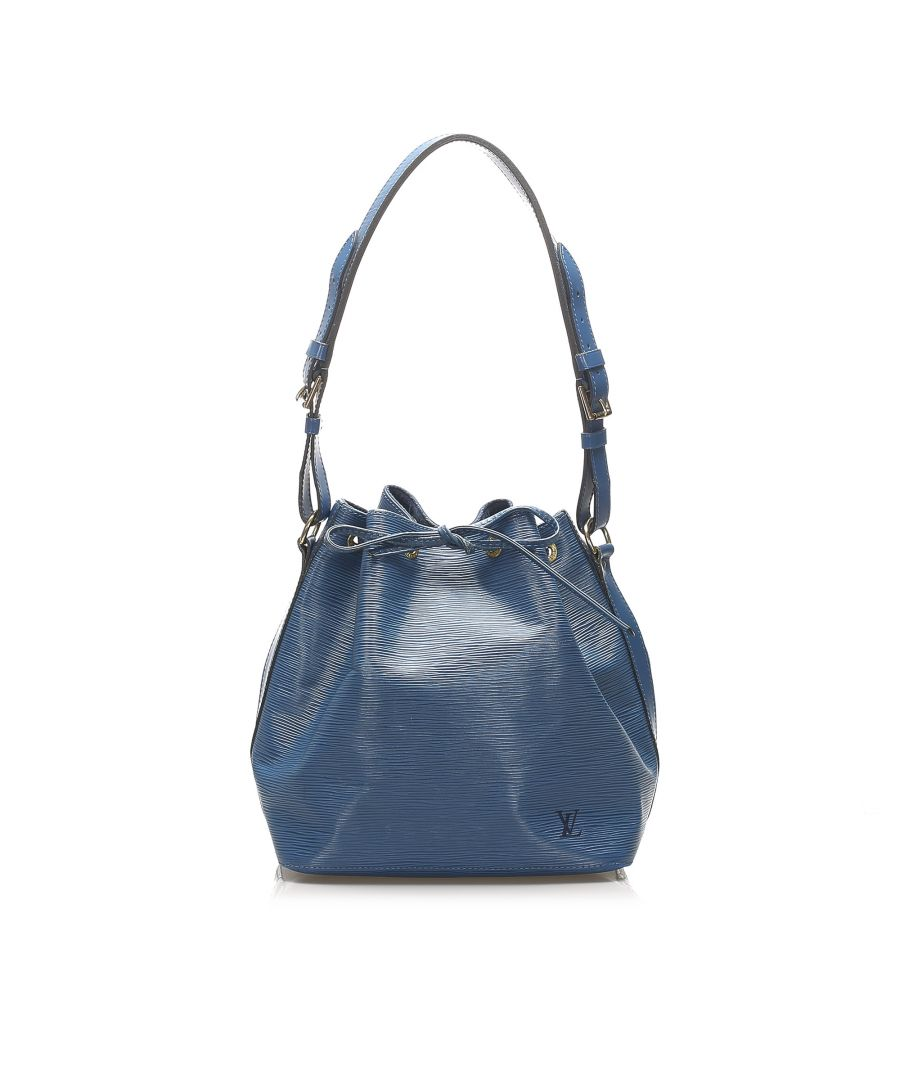Image for Vintage Louis Vuitton Epi Petit Noe Blue