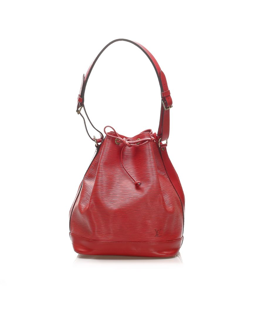 Image for Vintage Louis Vuitton Epi Noe Red