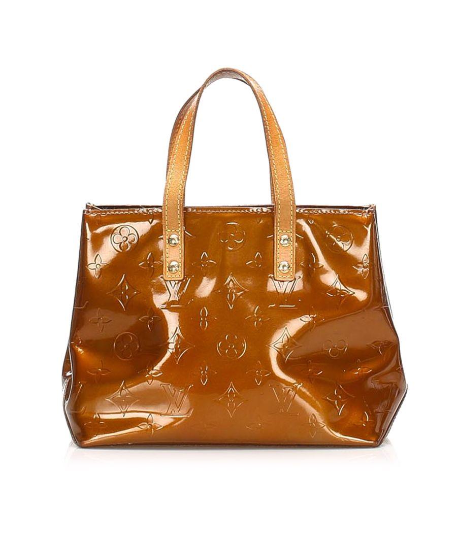 Image for Vintage Louis Vuitton Vernis Reade PM Brown