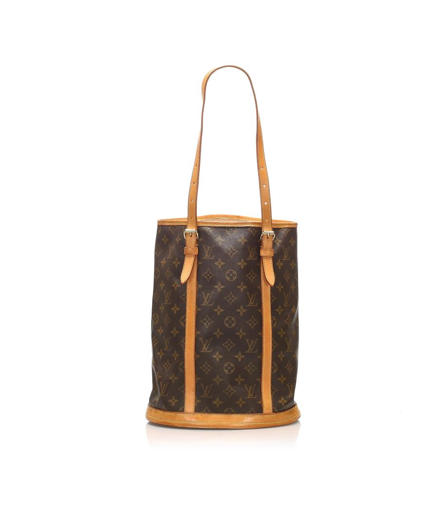 Image for Vintage Louis Vuitton Monogram Bucket GM Brown