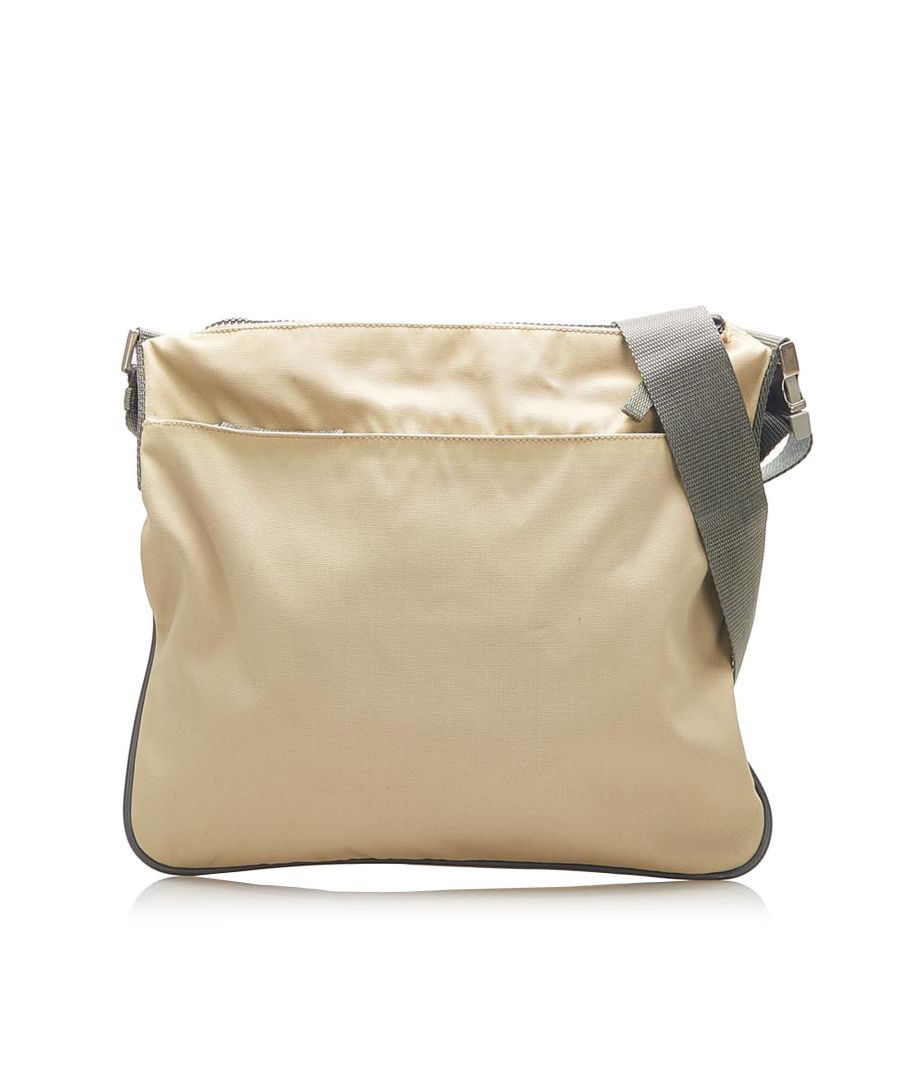 Image for Vintage Prada Sports Tessuto Crossbody Bag Brown