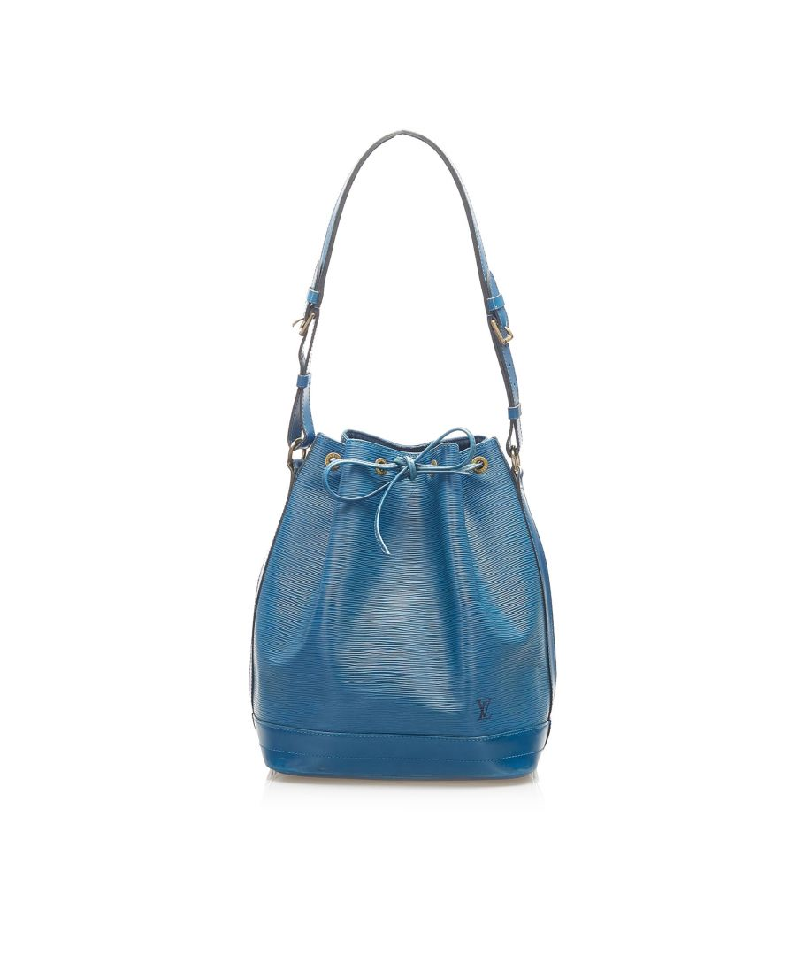 Image for Vintage Louis Vuitton Epi Noe Blue
