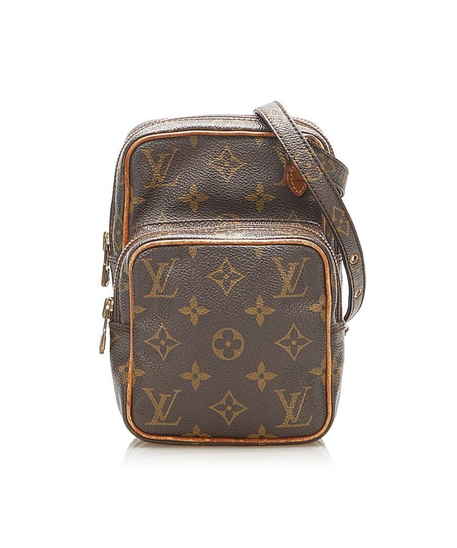 Image for Vintage Louis Vuitton Monogram Mini Amazone Brown