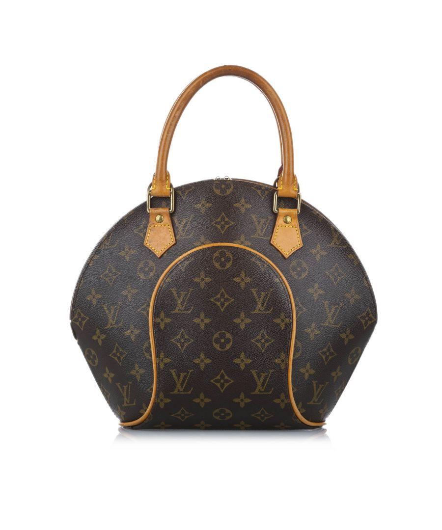 Image for Vintage Louis Vuitton Monogram Ellipse PM Brown