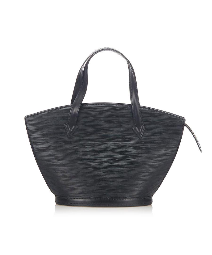 Image for Vintage Louis Vuitton Epi Saint Jacques GM Long Strap Black