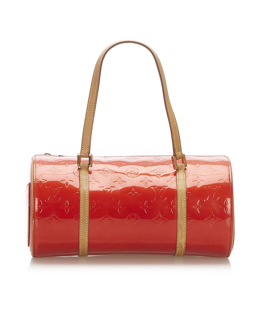 Image for Vintage Louis Vuitton Vernis Bedford Red